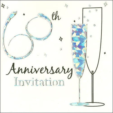 60th Anniversary Invitation