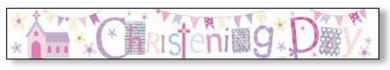 Christening Female Banner