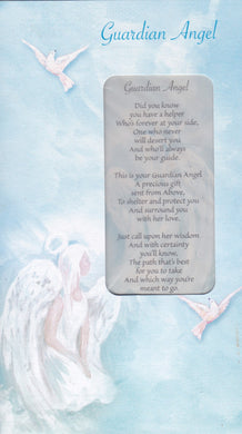 Guardian Angel Keepsake Card