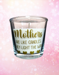 Large Candle: Mother's Like Candles