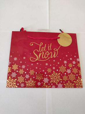 Let It Snow Medium Gift Bag