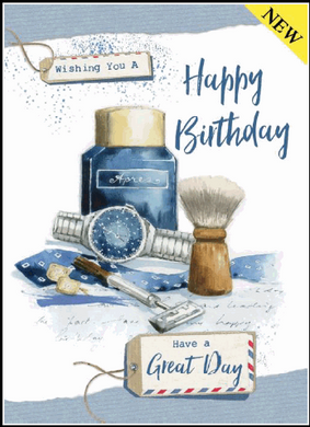 Indigo Birthday Cards