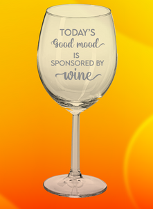 Wine Glass: Sponsored By Wine