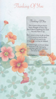 Thinking of you Keepsake Card