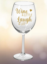 Wine Glass: Wine A Little
