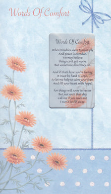 Word of Comfort Keepsake Card