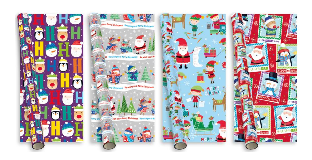 5m Roll of Wrapping Paper - Novelty Kids