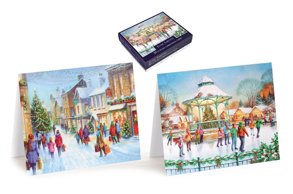 Tom Smith - 20 Christmas Village Cards