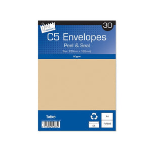 C5 Manilla Envelopes