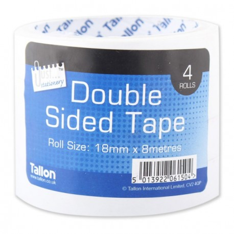 4 Rolls of Double Sided Tape