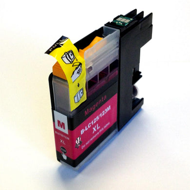 Brother LC123 XL Magenta Ink Cartridge