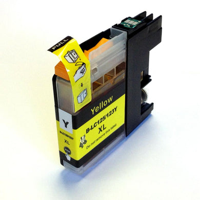 Brother LC123 XL Yellow Ink Cartridge
