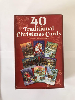 40 Traditional Christmas Cards