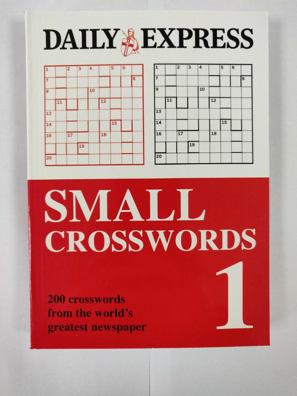 Daily Express Small Crosswords 1