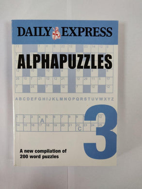 Daily Express Alphapuzzles 3