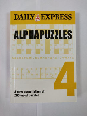 Daily Express Alphapuzzles 4