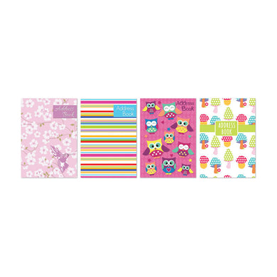 Pocket Address Book 11 x 7.5cm Padded cover