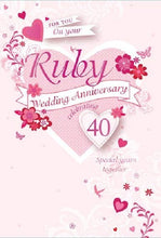 Your Ruby Anniversary