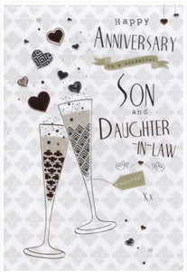 Son & Daughter In Law Anniversary