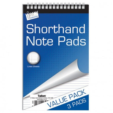 Shorthand Note Pads (x3)