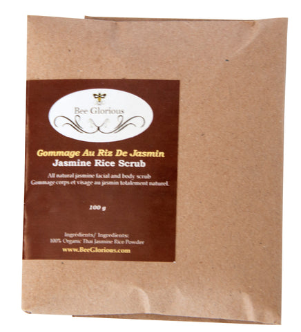Jasmine Rice Scrub - Bee Glorious