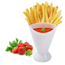 Load image into Gallery viewer, French Fry Cone Dipping Cup