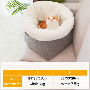 Pet Cat or Dog Bed Warming Soft Material Sleeping Bag Pet Cushion Dog House Puppy Kennel FREE SHIPPING