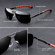 Load image into Gallery viewer, KINGSEVEN Brand Men or Women Aluminum Sunglasses HD Polarized UV400 Mirror Sun Glasses FREE SHIPPING