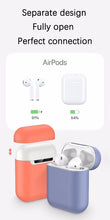 Load image into Gallery viewer, Slim Silicone Earphone Case For Apple Airpods Case Cover For AirPods Wireless Charging Box Ultra Thin For AirPods Protector Case FREE SHIPPING