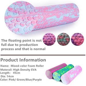 Gym Fitness Yoga Foam Roller Peanut Ball Set Pilates Assorted Sets and Colors Block Peanut Massage Roller Ball Therapy Relax Exercise Relieve Stress FREE SHIPPING