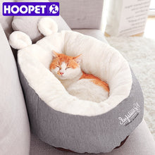 Load image into Gallery viewer, Pet Cat or Dog Bed Warming Soft Material Sleeping Bag Pet Cushion Dog House Puppy Kennel FREE SHIPPING