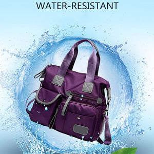 Water Resistant Nylon Tote Gym Yoga Pilates Shopping Crossbody Shoulder Bag 4 Colors Women Messenger Bag FREE SHIPPING