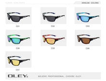 Load image into Gallery viewer, OLEY Polarized UV400 Sunglasses 7 Colors Men's Driving Shades Outdoor Sports For Men Luxury Brand FREE SHIPPING