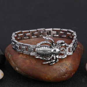 Stainless Steel Men's High Quality SPIDER Bracelet FREE SHIPPING