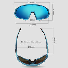 Load image into Gallery viewer, TR90 Cycling Sunglasses 1 LENS  MTB Polarized Sports Cycling Glasses Goggles bicycle mountain bike glasses men/women cycling eyewear FREE SHIPPING