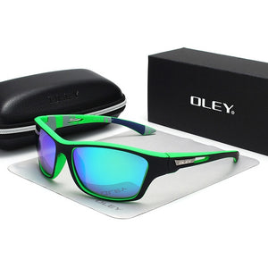 OLEY Polarized UV400 Sunglasses 7 Colors Men's Driving Shades Outdoor Sports For Men Luxury Brand FREE SHIPPING