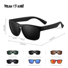 Load image into Gallery viewer, POLAR KING Designer Brand UV400 Polarized Sunglasses 6 Colors Travel Driving Sun Glass FREE SHIPPING