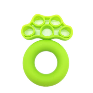 Hand Gripper Silicone Ring Hand Grip Resistance Band Finger Stretcher-Exercise Forearm Wrist Training Carpal Expander 2Pcs/set  FREE SHIPPING