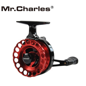 Mr.Charles New NND-HS65 Gear Ratio 3.6:1Semimetal Fishing Left/Right Hand Fly Fishing Reel Raft Ice Fishing Reel Fly Reel