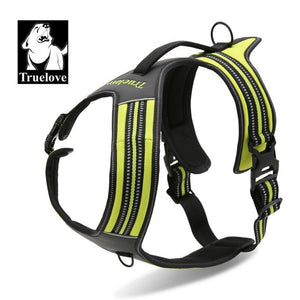 Nylon Reflective LARGE No Pull Dog Harness Outdoor Adventure Pet Vest with Handle 5 Colors in Stock FREE SHIPPING
