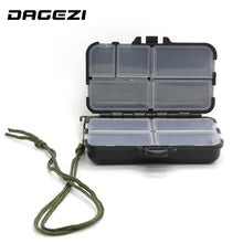 Load image into Gallery viewer, DAGEZI big Fishing Tackle Box for fishing Popper 9 Compartments can be adjustable Fly Fishing Box Fishing Accessories