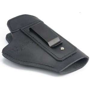 Leather IWB Concealed Carry Gun Holster for Glock 17 19 22 23 43 Sig Sauer P226 P229 Ruger Beretta 92 M92 s&w Pistols Clip Case