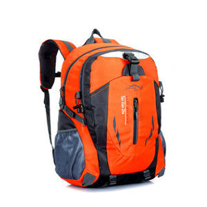 Men or Women ORANGE Backpack Waterproof Designer High Quality Unisex Nylon Bags Travel Bag
