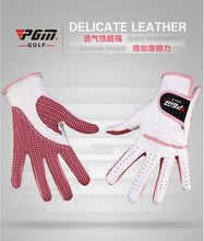 Load image into Gallery viewer, Women Golf Gloves Soft Breathable Pure Sheepskin 1 PAIR with Anti-Slip Granules for Women. FREE SHIPPING