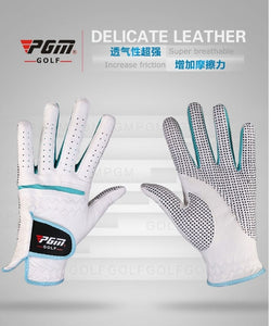Women Golf Gloves Soft Breathable Pure Sheepskin 1 PAIR with Anti-Slip Granules for Women. FREE SHIPPING