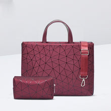 "Load image into Gallery viewer, Laptop BAG ONLY 11""12"" 13"" 14"" 15.6"" Geometric Case For MacBook Air/Pro 13.3"",15.4"" Shoulder Bag"