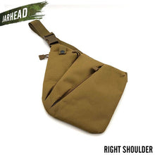 Load image into Gallery viewer, Multifunctional Concealed Tactical Storage Gun Bag Holster Men's Left Right Nylon Shoulder Bag Anti-theft Bag Chest Bag Hunting