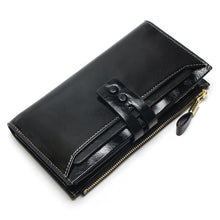 Load image into Gallery viewer, New Women's Wallet Genuine Leather High Quality Long Design Clutch Cowhide Wallet High Quality Fashion Female Purse