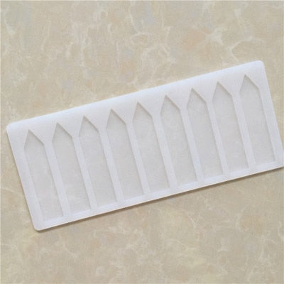 Picket Fence Arrows Silicone Chocolate Fondant Candy Mold Cake Decorating Tools Home Handmade Cake Fondant Mold