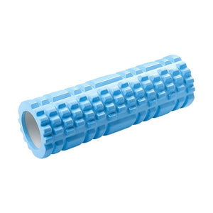 Column Yoga BLUE Block Fitness Equipment Pilates Foam Roller Fitness Gym Exercises Muscle Massage Roller Yoga Brick Sport Gym FREE SHIPPING